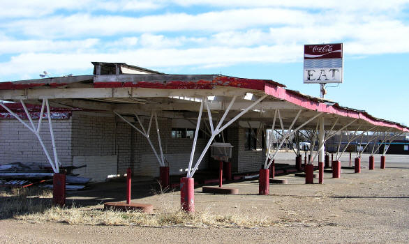 Abandoned Westerner Drive-Inn Tucumcari, New Mexico