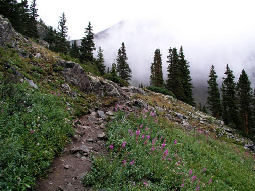 Trail to Lower Mohawk Lake