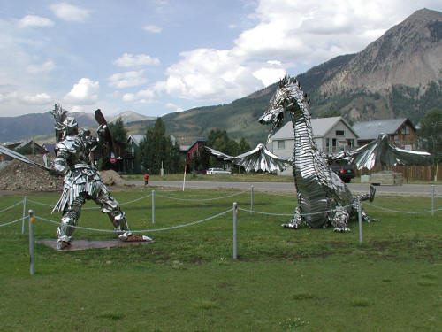 Crested Butte Sculpture