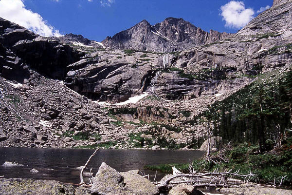 Black Lake and McHenry's Peak