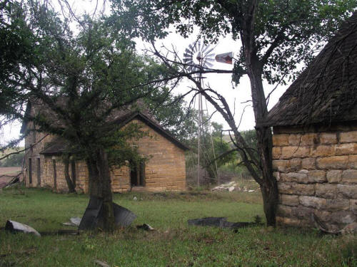 Abandoned Farmstead Kansas
