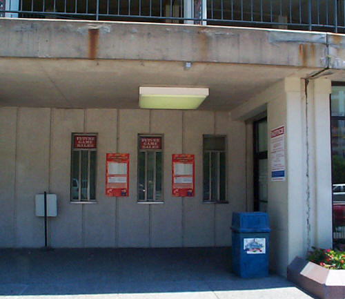 Stadium Ticket Booth