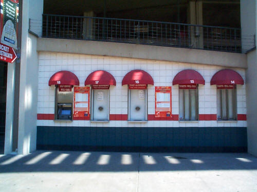 Ticket Booth close-up
