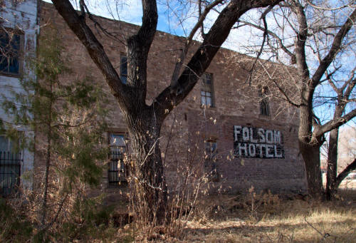 Folsom Hotel - East Wall